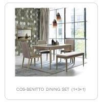 COS-BENITTO DINING SET (1+3+1)